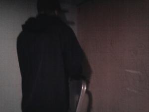 Spacklar i Röda Bunkern.