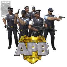 Första bilen av poliser APB